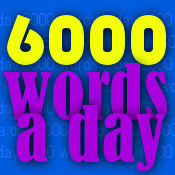 Secrets for writing 6000 words a day.